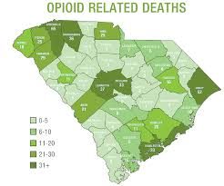 County Map Of South Carolina Sc Lawmakers Introduce 10 Bills To Fight Opioid Epidemic