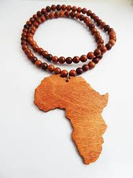 large wood bead necklace images Men african ethnic necklaces the blacker the berry jpg