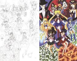 sailor moon fan art sketch and color 1 by d13mon studios on deviantart