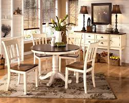 white space saver table kitchen winsome whitesburg piece round dining table set brown
