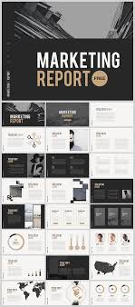 Marketing Report Template Powerpoint Digitalmarket Pinterest Free Power Point