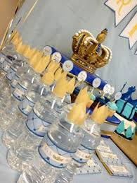 Prince Favors by Royal Prince Baby Shower Buffet Cake Centerpiece With