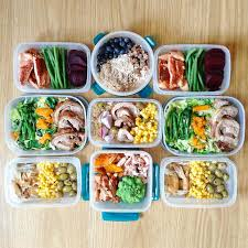 Food Prep Meals | meal prep pics from the healthiest people on instagram