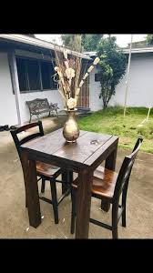 Rustic Bistro Table And Chairs Brand New Rustic Bistro Set With Chairs Furniture In Kailua