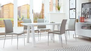 White Gloss Dining Tables And Chairs Grey Dining Room Table Canada Barclaydouglas