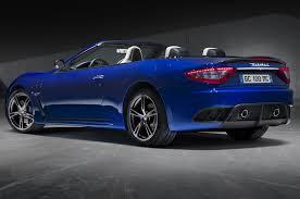 blue maserati granturismo maserati granturismo mc centennial editions debut motor trend