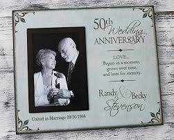 wedding anniversary plaques 50th wedding anniversary picture frame 25th wedding
