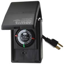 intermatic light timer manual hb31r outdoor mechanical timer 15 amp