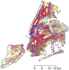 New York Boroughs Map by Rat Sightings In New York City Are Associated With Neighborhood