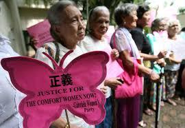Comfort Women In Philippines Philippine U0027comfort Women U0027 Protest For Justice