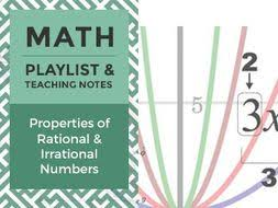 using properties of rational and irrational numbers by wisewire