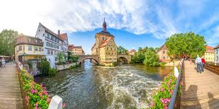 bamberg germany map 9 german cities in 12 days by rail