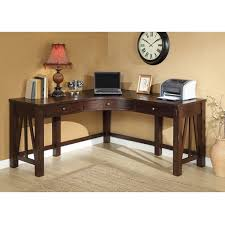 Riverside Home Office Furniture Riverside Furniture Castlewood Corner Desk In Warm