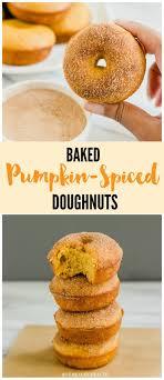 light pumpkin dessert recipes recipe file baked pumpkin spice donuts baked pumpkin doughnut
