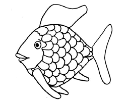 rainbow fish coloring book coloring rainbow fish coloring