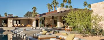 modern desert home design a modern palm springs desert home with midcentury style features