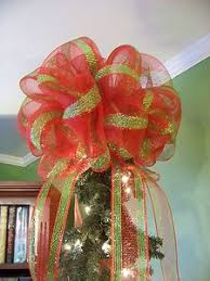 Decorate Christmas Tree With Bows by 382 Best Deco Mesh Crafts Images On Pinterest Deco Mesh Crafts