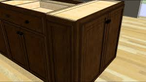 homemade kitchen island ideas kitchen design tip designing an island with wall cabinet ends