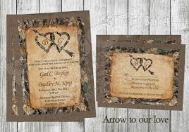 camo wedding invitations printable wedding invitations arrow to our lovebirthday