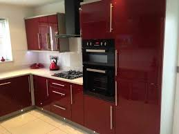 kitchen romantic design of red white kitchen ideas inspiring