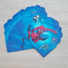 Free Spiderman Invitation Cards Online Buy Wholesale Men Invitations From China Men Invitations