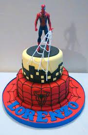 Dragon Ball Z Cake Decorations by Spiderman Cake Mis Tortas Pinterest Cake