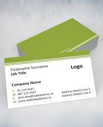 Job Title On Business Card Admailer From An Post Business Cards Gallery