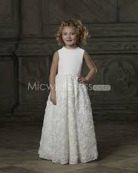 vintage communion dresses us 149 99 luxurious a line scoop floor length floral skirt flower