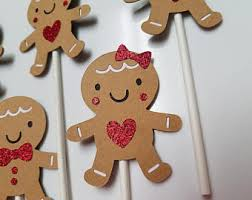 gingerbread decor etsy