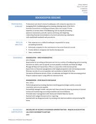 Sample Resume For Office Manager Bookkeeper Bookkeeper Cv Example For Accounting Finance Livecareer