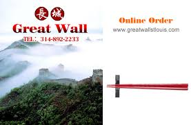 China Wall Buffet Coupon by Great Wall Restaurant Louis Mo Chinese Food Online Order Eat
