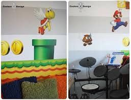 mario brothers room idea cuckoo4design blik mario brothers wall decal and roland drum set