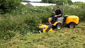 kersten flail mower attachment for the stiga titan youtube