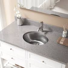 oval undermount bathroom sink stainless steel oval undermount bathroom sink and overflow sinks