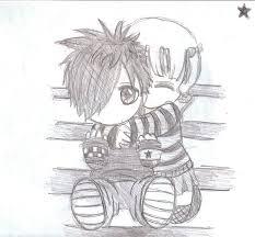 drawn emo pencil drawing pencil and in color drawn emo pencil