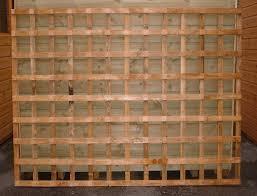 Wooden Trellis Panels Trellis Panel Bingley Fencing And Timber Timber Fences