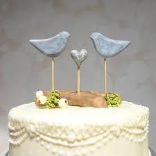 bird cake topper etsy wedding cake topper grey cake topper bird wedding