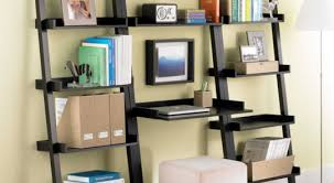 56 leaning storage shelves assembly home leaning bookcase
