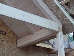 custom post and beam porch under construction part 8