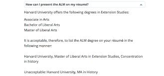 Bachelor Degree Resume