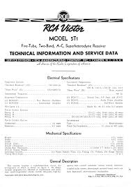 old radio information