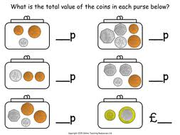 money year 2 measurement animated powerpoint presentation and