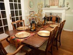 Christmas Decor Diy Ideas With Wood Furniture Dinner Table Centerpiece Ideas Dzqxh Com Centerpieces