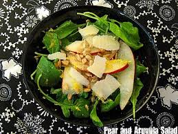 meet me in the kitchen 2 thanksgiving salads pear arugula