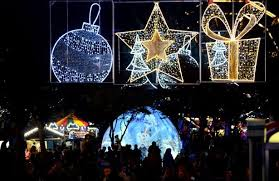 what time is the plymouth christmas lights switch on devon live