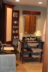 Bathroom With Two Separate Vanities by Double Up Your Bathroom Design Lang U0027s Kitchen U0026 Bath