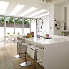 white kitchen with island beautiful white kitchens pthyd