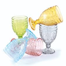 trestle glass goblets by fitz and floyd glass pinterest