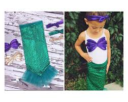 Mermaid Halloween Costume Mermaid Costume Etsy
