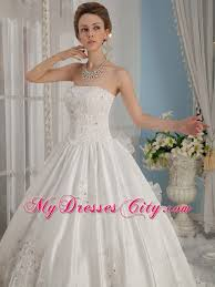 wedding dresses 300 princess strapless beading cathedral bridal gowns 300
